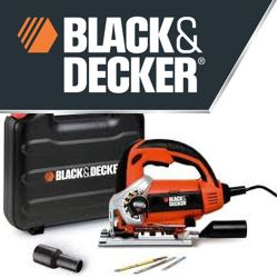Black & Decker decoupeerzaag met opbergkoffer